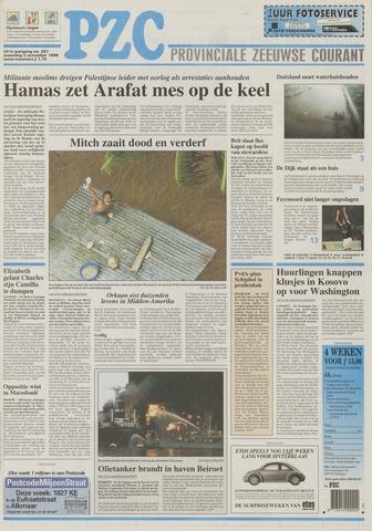 Provinciale Zeeuwse Courant 1998-11-02