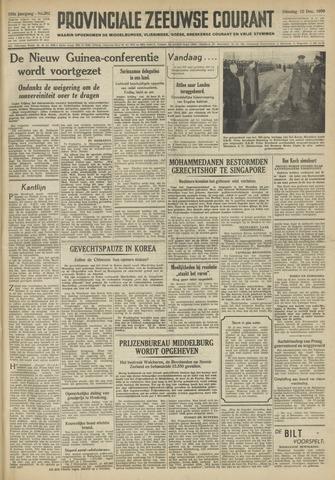 Provinciale Zeeuwse Courant 1950-12-12