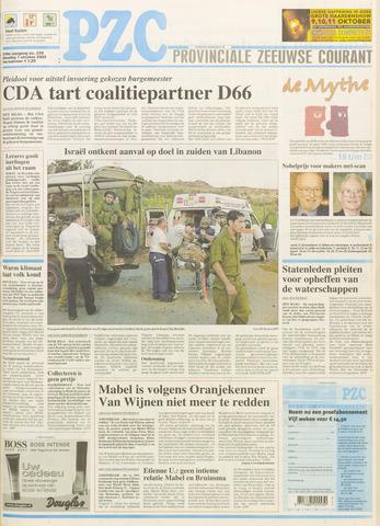 Provinciale Zeeuwse Courant 2003-10-07