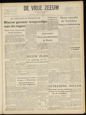 de Vrije Zeeuw 1951-11-22
