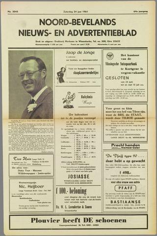 Noord-Bevelands Nieuws- en advertentieblad 1961-06-24
