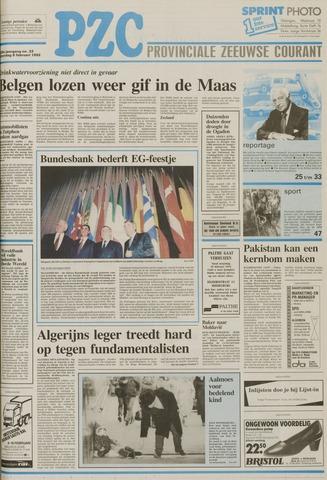 Provinciale Zeeuwse Courant 1992-02-08