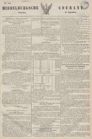 Middelburgsche Courant 1850-09-17