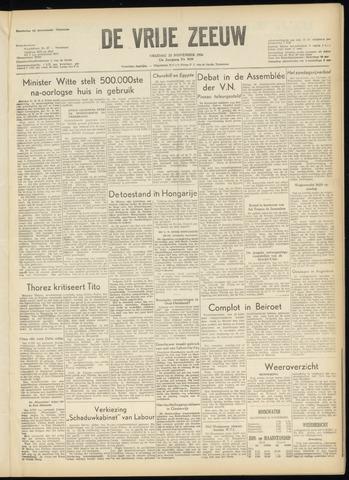 de Vrije Zeeuw 1956-11-23