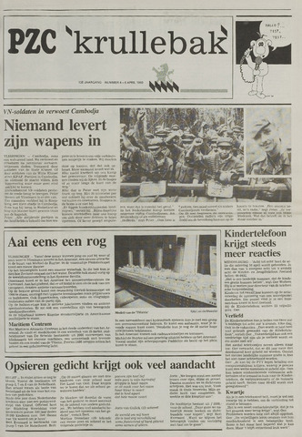 Provinciale Zeeuwse Courant katern Krullenbak (1981-1999) 1993-04-06