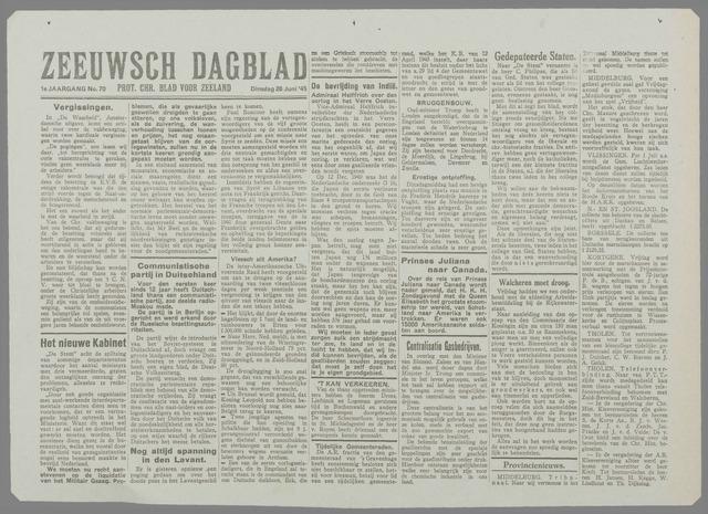 Zeeuwsch Dagblad 1945-06-26
