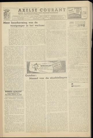 Axelsche Courant 1954-10-02