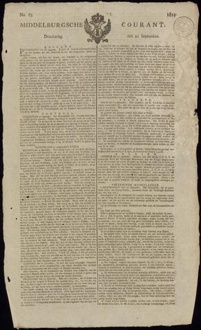 Middelburgsche Courant 1814-09-22