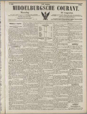 Middelburgsche Courant 1903-08-10