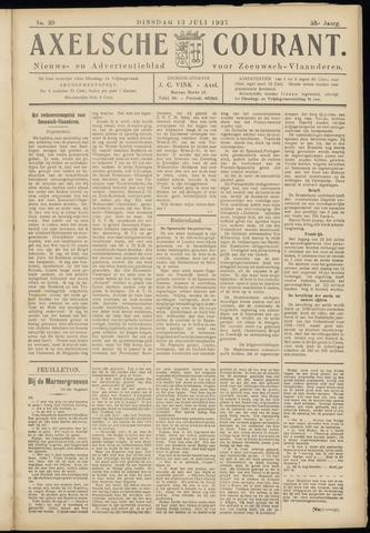 Axelsche Courant 1937-07-13