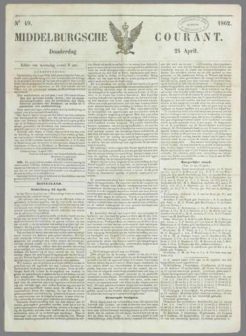 Middelburgsche Courant 1862-04-24