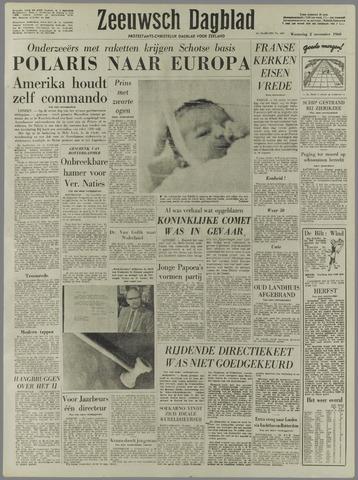 Zeeuwsch Dagblad 1960-11-02