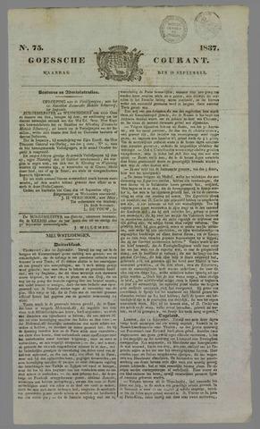 Goessche Courant 1837-09-18