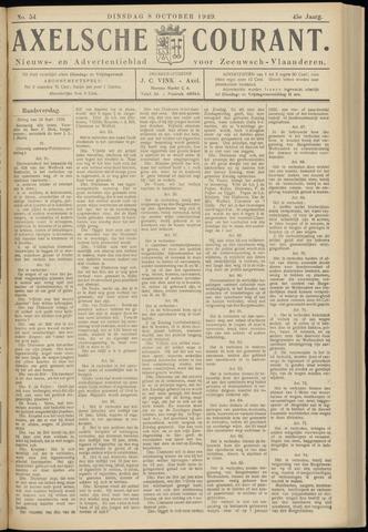 Axelsche Courant 1929-10-08