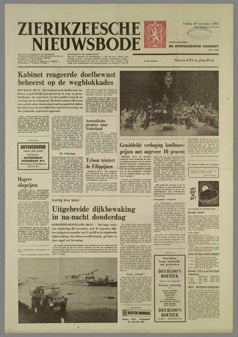 Zierikzeesche Nieuwsbode 1974-11-29