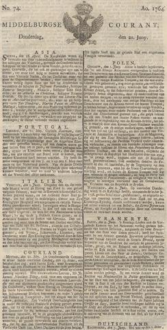 Middelburgsche Courant 1764-06-21