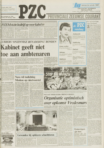 Provinciale Zeeuwse Courant 1983-10-29