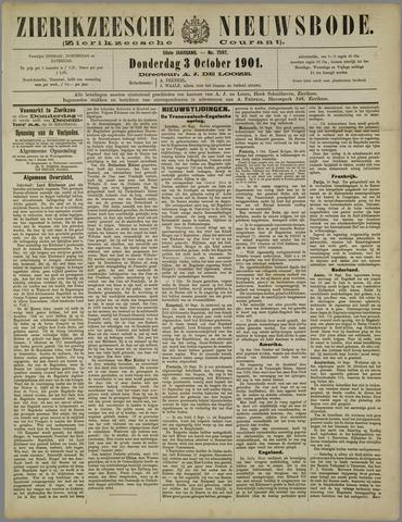 Zierikzeesche Nieuwsbode 1901-10-03