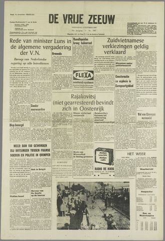 de Vrije Zeeuw 1967-10-04
