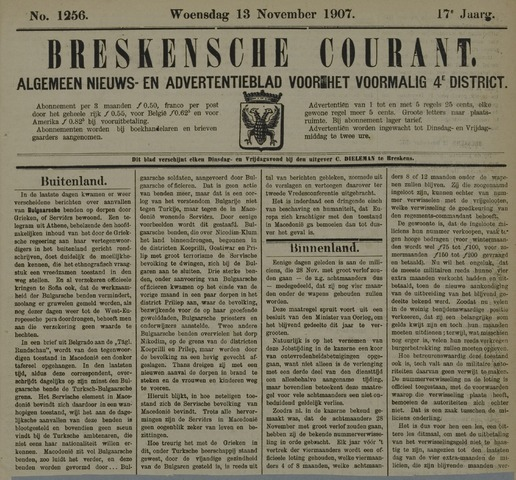 Breskensche Courant 1907-11-13