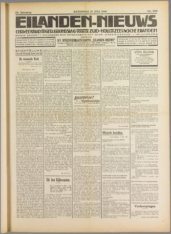 Eilanden-nieuws. Christelijk streekblad op gereformeerde grondslag 1940-07-13