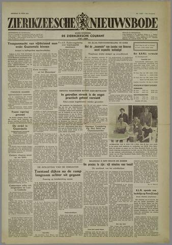 Zierikzeesche Nieuwsbode 1954-06-22