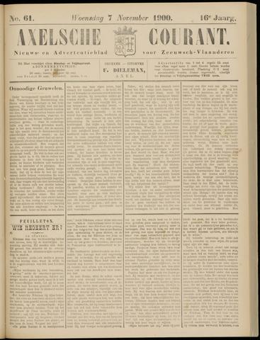 Axelsche Courant 1900-11-07