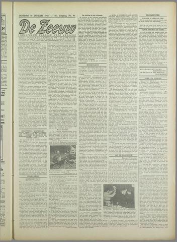 De Zeeuw. Christelijk-historisch nieuwsblad voor Zeeland 1943-01-19