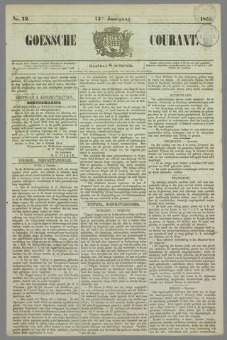Goessche Courant 1855-10-08