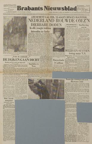 Watersnood documentatie 1953 - kranten 1953-02-09