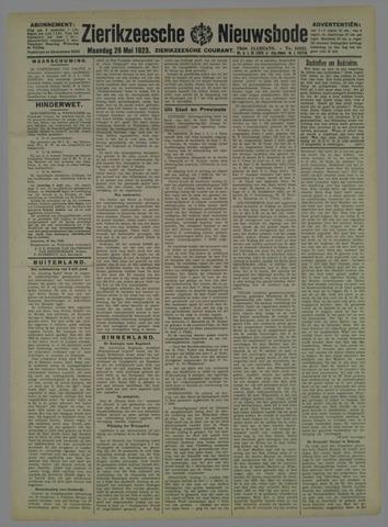 Zierikzeesche Nieuwsbode 1923-05-28