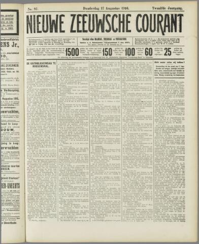Nieuwe Zeeuwsche Courant 1916-08-17