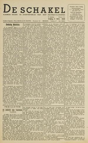 De Schakel 1949-11-04