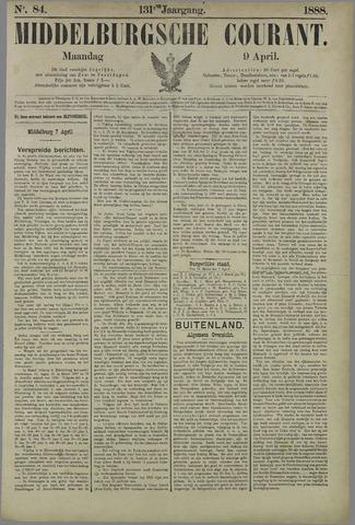 Middelburgsche Courant 1888-04-09