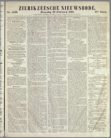 Zierikzeesche Nieuwsbode 1881-02-22