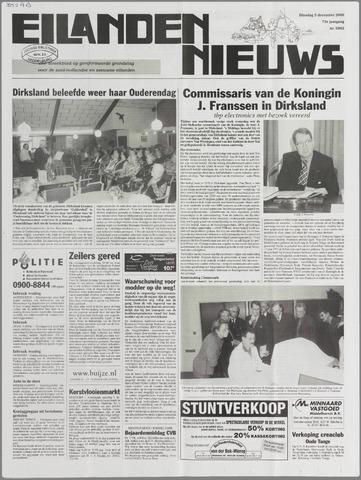 Eilanden-nieuws. Christelijk streekblad op gereformeerde grondslag 2000-12-05