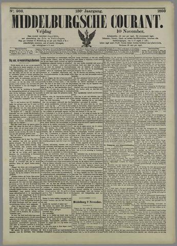 Middelburgsche Courant 1893-11-10