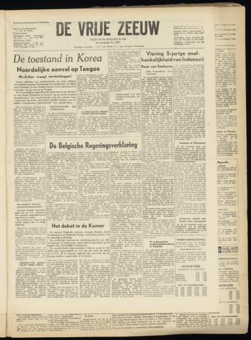 de Vrije Zeeuw 1950-08-18