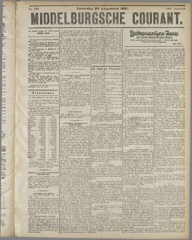 Middelburgsche Courant 1921-08-20