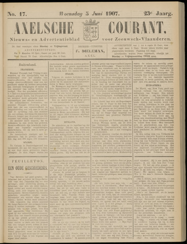 Axelsche Courant 1907-06-05