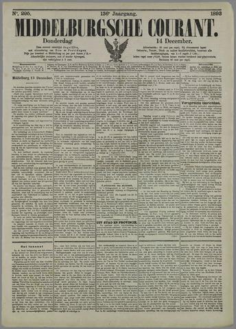 Middelburgsche Courant 1893-12-14