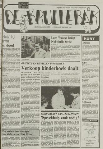 Provinciale Zeeuwse Courant katern Krullenbak (1981-1999) 1983-10-11