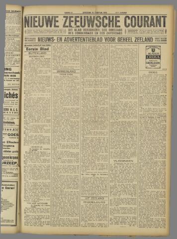 Nieuwe Zeeuwsche Courant 1925-02-14