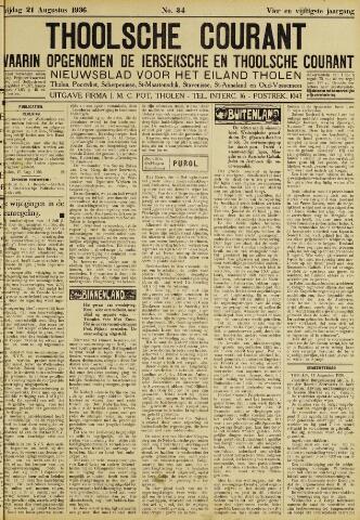 Ierseksche en Thoolsche Courant 1936-08-21