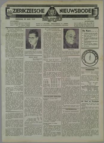 Zierikzeesche Nieuwsbode 1937-06-22