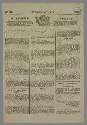 Goessche Courant 1845-04-20