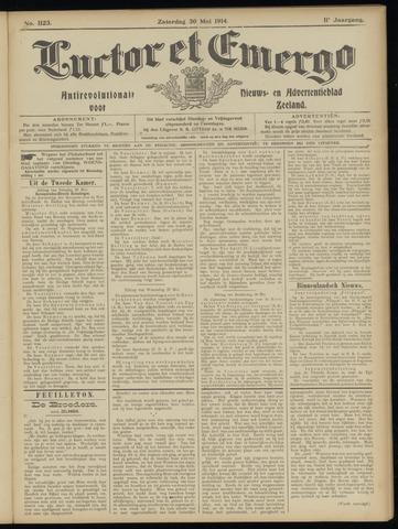 Luctor et Emergo. Antirevolutionair nieuws- en advertentieblad voor Zeeland / Zeeuwsch-Vlaanderen. Orgaan ter verspreiding van de christelijke beginselen in Zeeuwsch-Vlaanderen 1914-05-30
