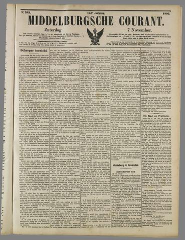 Middelburgsche Courant 1903-11-07