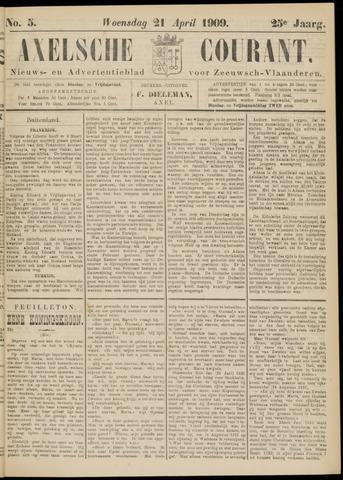 Axelsche Courant 1909-04-21