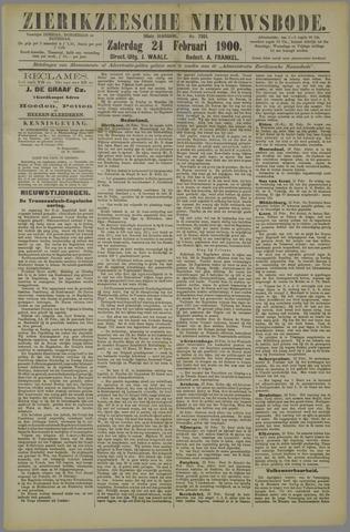 Zierikzeesche Nieuwsbode 1900-02-24